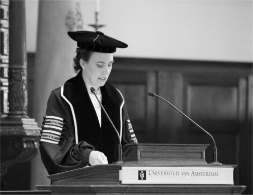 Oratie Sarah L. de Lange